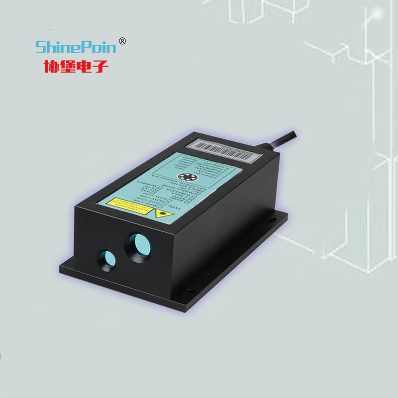 上海协堡SLDS-C300|300米工业用耐高低温型|±1mm高精度激光测距传感器|边坡形变定位防撞室外测量|厂家定制直销